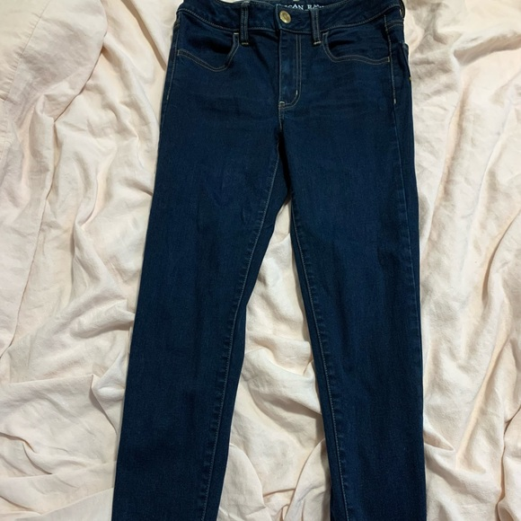 Size 6 Regular dark wash skinny jeans- like new